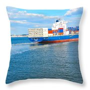 South Ferry Water Ride27 Throw Pillow