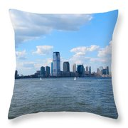 South Ferry Water Ride6 Throw Pillow