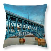 South Grand Island 3302 Throw Pillow