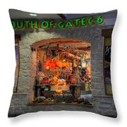 South Of Gate C6 Throw Pillow