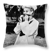 South Pacific, 1958 Throw Pillow