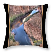 South Side Of Horseshoe Bend Throw Pillow