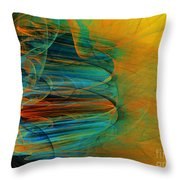 South Western Influence Throw Pillow