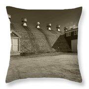 Southampton Potato Barn Throw Pillow