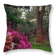 Southern Garden - Fs000148 Throw Pillow