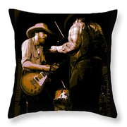Southern Jam By The Cdb Throw Pillow