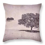 Southern Oaks Throw Pillow