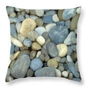 Southern Pebbles Throw Pillow