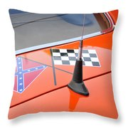 Southern Racing Flags Throw Pillow