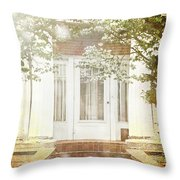 Southern Spring Throw Pillow by Stephanie Frey