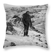 Southpole-antarctica-photos-4 Throw Pillow