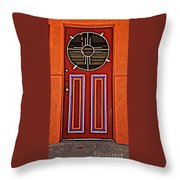 Southwest Architecture Throw Pillow