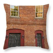 Southwest Corner Of 5th And G Throw Pillow