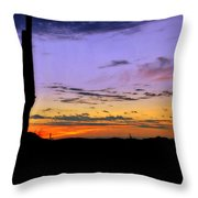 Southwestern Style Sunrise  Throw Pillow