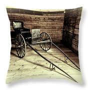 Souvenir Of The Past Throw Pillow