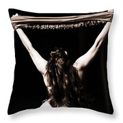 Sovereign  Throw Pillow by Elizabeth Hart