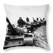Soviet Tanks, 1978 Throw Pillow