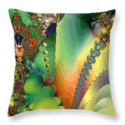 Space B Of B Throw Pillow