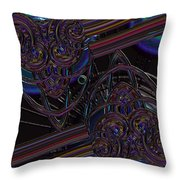 Space Glass Throw Pillow