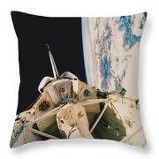 Space Shuttle Columbia Throw Pillow