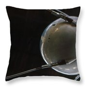 Space: Sputnik 1, 1957 Throw Pillow