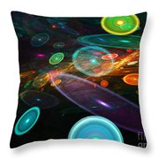 Space Travel In 2112 Throw Pillow