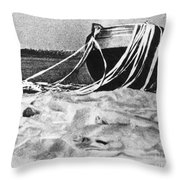 Space: Venus 4, 1967 Throw Pillow