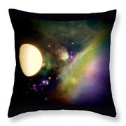 Space Vision Throw Pillow