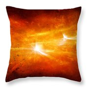 Space008 Throw Pillow by Svetlana Sewell