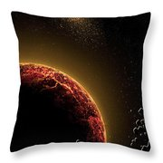 Space010 Throw Pillow by Svetlana Sewell