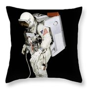 Spacesuit Used By Gemini Viii Throw Pillow