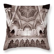 Spain Cathedral 1 Throw Pillow