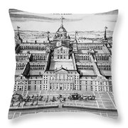 Spain: El Escorial Throw Pillow
