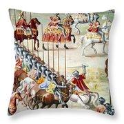 Spain: Higueruela, 1431 Throw Pillow