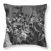Spain: Inn, 1810 Throw Pillow