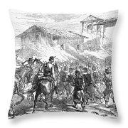 Spain: Second Carlist War Throw Pillow