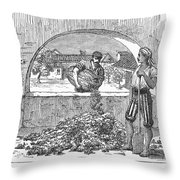 Spain: Sherry Production Throw Pillow