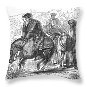 Spain: Wine Transport Throw Pillow