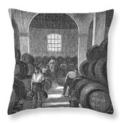 Spain: Winery Throw Pillow
