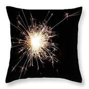 Spangle Throw Pillow by Susan Herber