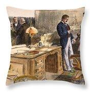 Spanish-american War Throw Pillow