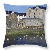 Spanish Arch, Galway City, Ireland Throw Pillow
