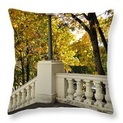 Spanish Steps II Throw Pillow