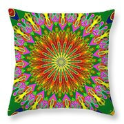 Spanish Tile Throw Pillow