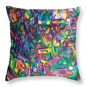 Spare Me From A Divine Test Throw Pillow
