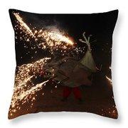 Sparkling Dragon Throw Pillow