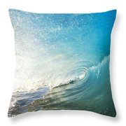 Sparkling Wave IIi Throw Pillow