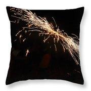 Sparks Disco Throw Pillow