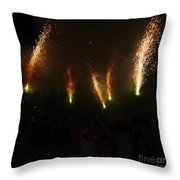 Sparks Of Pens Throw Pillow