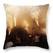 Sparks Rain 2 Throw Pillow
